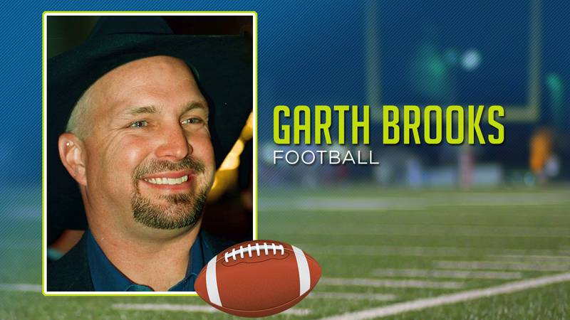 Garth Brooks played high school football