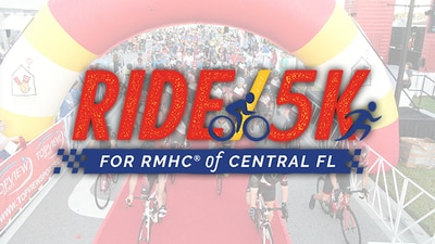 Ride, Run or Walk with us and support the families of Ronald McDonald House!
