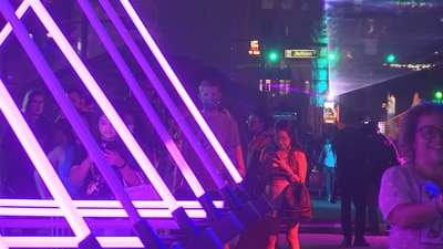 Video: Arts community reunites with IMMERSE 2021 festival in downtown Orlando