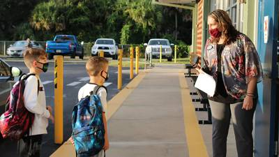 Video: Volusia County Schools adds parental opt-out to mask policy