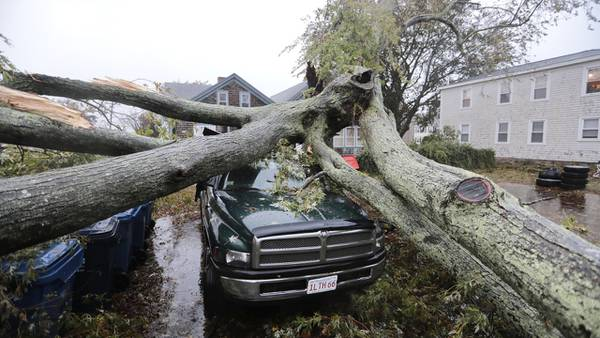 Photos: New England surveys damage in Nor'easter's aftermath