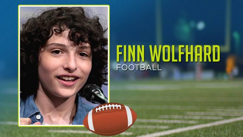 Finn Wolfhard played football
