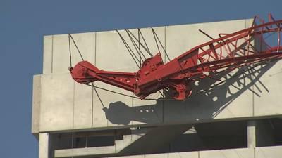 Photos: Crane collapse at construction site near AdventHealth Orlando