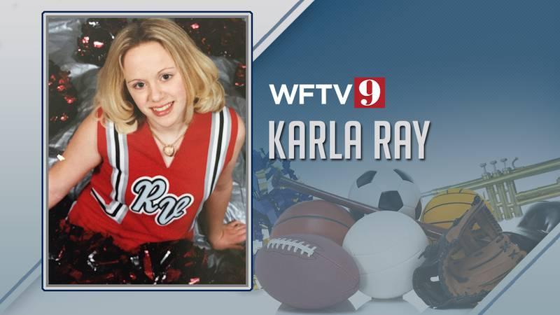 Karla Ray cheerleader