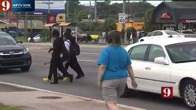 VIDEO: Orange County drivers share concerns over Evans High School students ignoring traffic signals