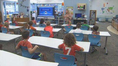 Video: Orlando elementary school students receive lessons in cyber safety