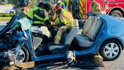 Off-duty OCFR Firefighter Renders Aid to Crash Victim