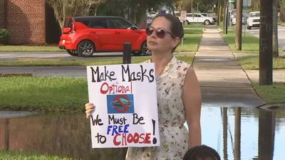 VIDEO: Fight over masks in Central Florida classrooms to continue after Labor Day weekend