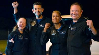 Video: 'Heck of a ride': SpaceX's Inspiration4 crew returns safely to Earth after historic mission