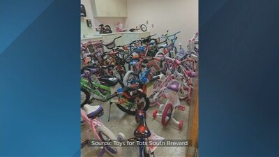 'We're definitely in trouble': Toys for Tots South Brevard in need of warehouse space