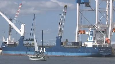 VIDEO: Florida Ports Open For Business, DeSantis says