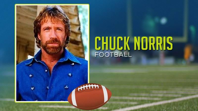 Chuck Norris played high school football