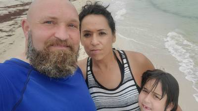 Husband pushes for immigration bill to reunite family with self-deported wife