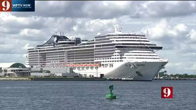 VIDEO: MSC Cruises celebrates first voyage from Port Canaveral