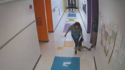 Parents of boy seen being dragged by school employees call for review of police response
