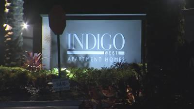 Photos: Person shot at Orlando apartment complex