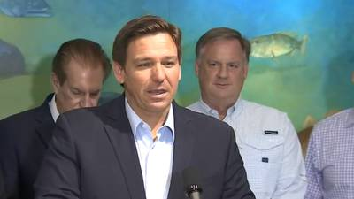 Video: DeSantis announces more than $114M to improve water quality in Florida