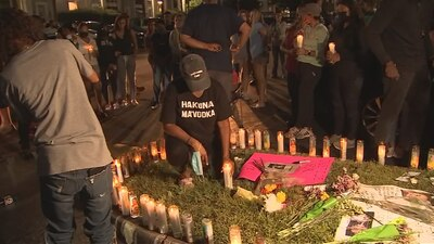 Photos: Candlelight vigil for missing teen Miya Marcano
