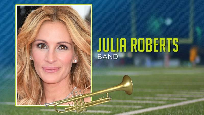 Celebrities In Band: Julia Roberts