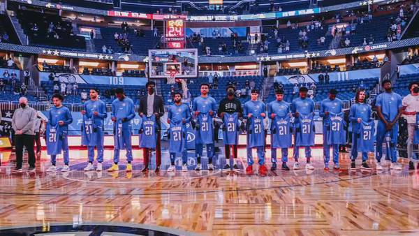 """""""Seats for Soldiers"""": Orlando Magic honor fallen soldiers with personalized team jerseys"""