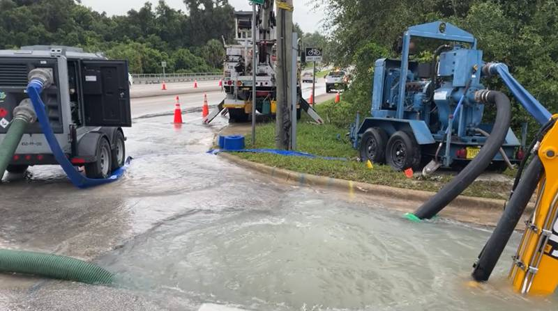 City of Deland water outage near Shady Oak Lane