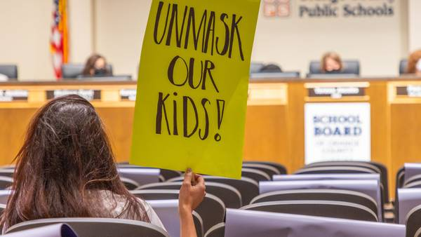 VIDEO: Parents hope end of Orange County state of emergency could lead to no mask mandate in schools