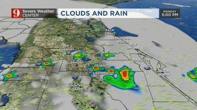 VIDEO: Warm temps to start the day, showers later this afternoon