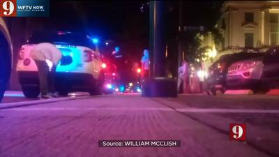 Video: Orlando officers attacked by man with a brick, police say