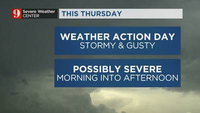 VIDEO: Big storm system heading to Central Florida this week