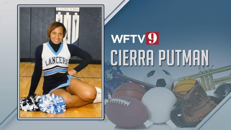Cierra Putman cheerleader high school