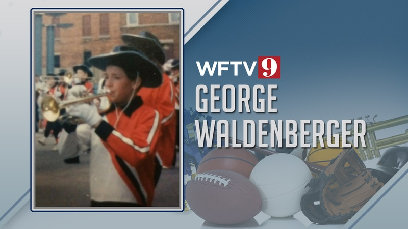 George Waldenberger marching band