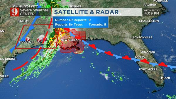 VIDEO: Latest timeline shows when Thursday storms could hit Central Florida