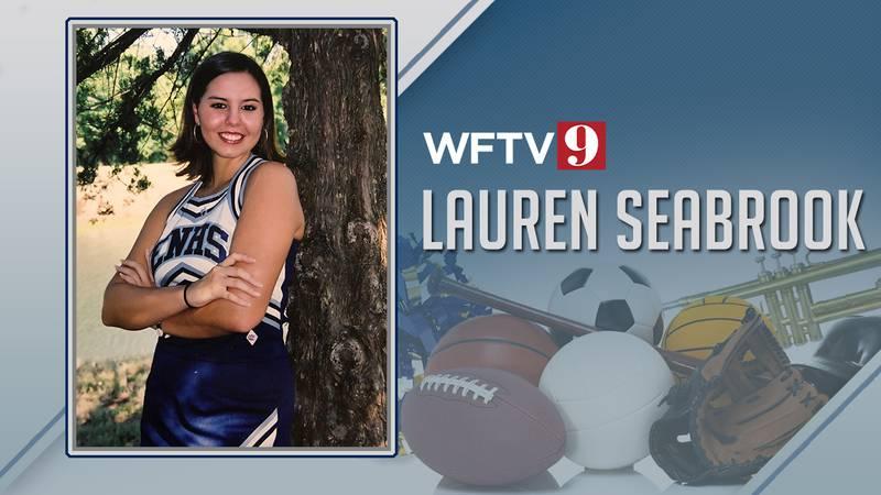 Lauren Seabrook cheerleader