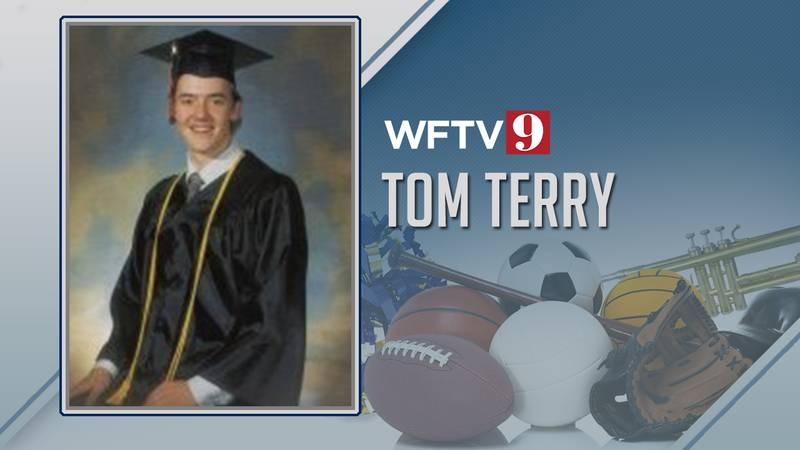Tom Terry was valedvictorian of his high school class