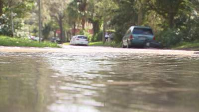Video: Construction delayed to replace pipe that caused flooding near downtown Orlando in 2018