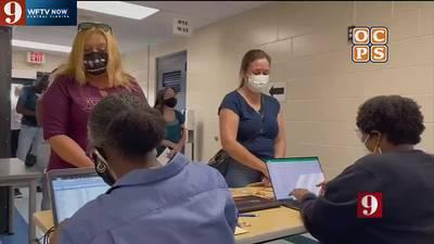 VIDEO: Orange County Public Schools offering hiring bonuses to help fill open food service jobs