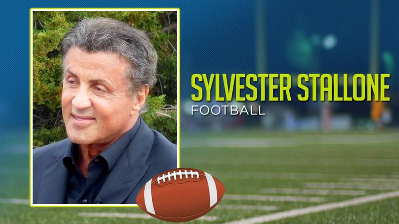 Sylvester Stallone played high school football.