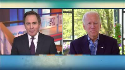 EXTENDED CONVERSATION: Joe Biden sits down with Eyewitness News