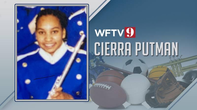 Cierra Putman high school band
