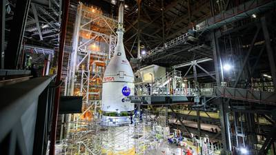 Video: NASA fully assembles SLS rocket ahead of Artemis mission to moon