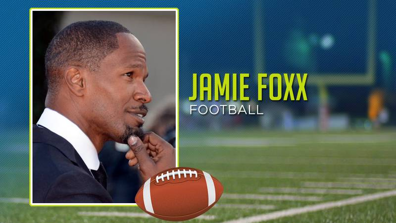 Jamie Foxx played high school football