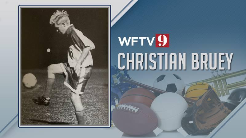 Christian Bruey high school sports wftv