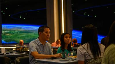 VIDEO: Space 220 restaurant officially blasts off at EPCOT