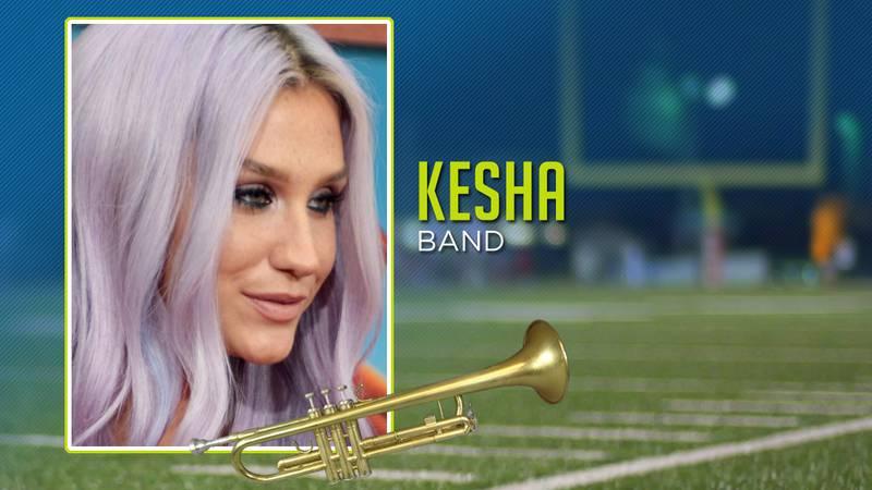 Celebrities In Band: Kesha