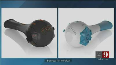 Video: Brevard County company helping study if breathing device can help COVID-19 long haulers