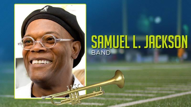 Celebrities In Band: Samuel L. Jackson