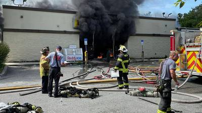 Photos: More than 60 Marion County, Ocala firefighters respond to fire inside Dollar General store
