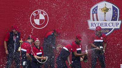 Photos: US defeats Europe 19-9 to reclaim Ryder Cup
