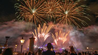 PHOTOS: Disney gives early look at Harmonious nighttime spectacular at EPCOT for 50th anniversary