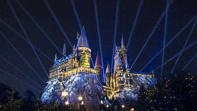 Christmas in The Wizarding World of Harry Potter at Universal Studios Florida and Universal's Islands of Adventure